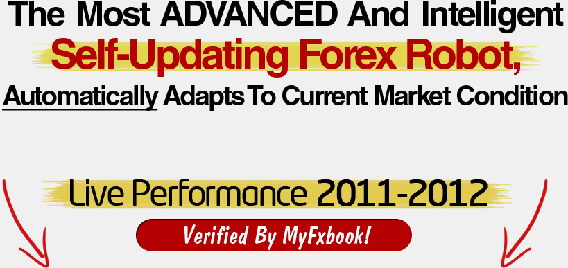 Forex robot live performance